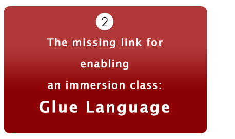 Immersion class missing link